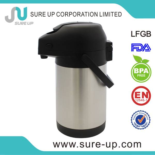 insulated stainless steel vacuum airpot
