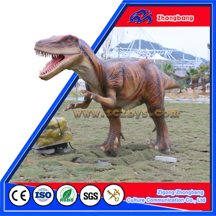 Attractive Park Equipment Vivid Dinosaur
