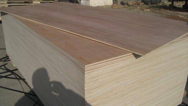 Commercial plywood with 'INDOPLY' brand