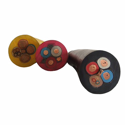 rubber insulated flexible mining cables