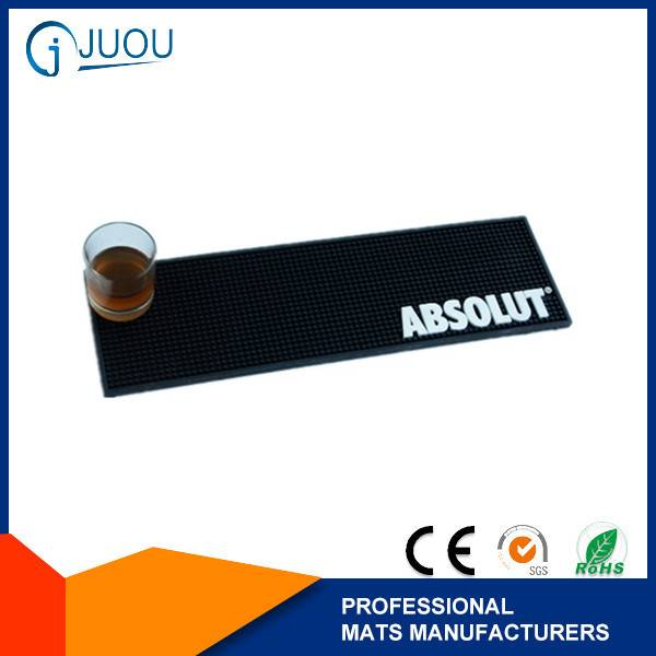 ABSOLUT Super waterproof custom rubber bar mat