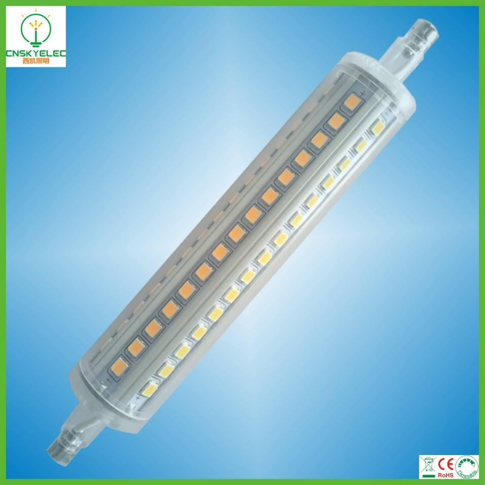 12w 135mm led r7s 360 degree, r7s led lamp