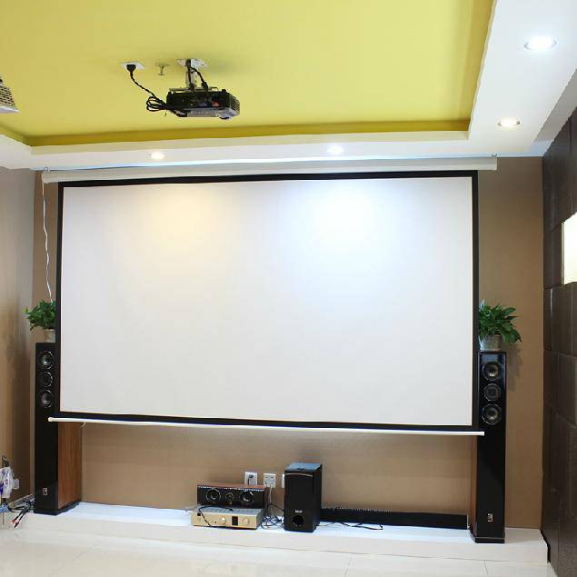 Cynthia Motorized Projector Screen