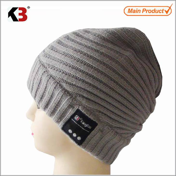 2015 custom wireless bluetooth function beanie caps wholesale
