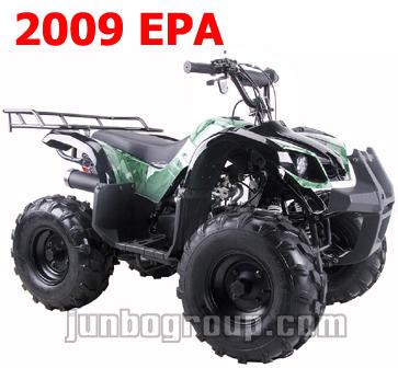 Quads 2009 EPA 125cc Quad Bikes with Bigger 8' Tyre