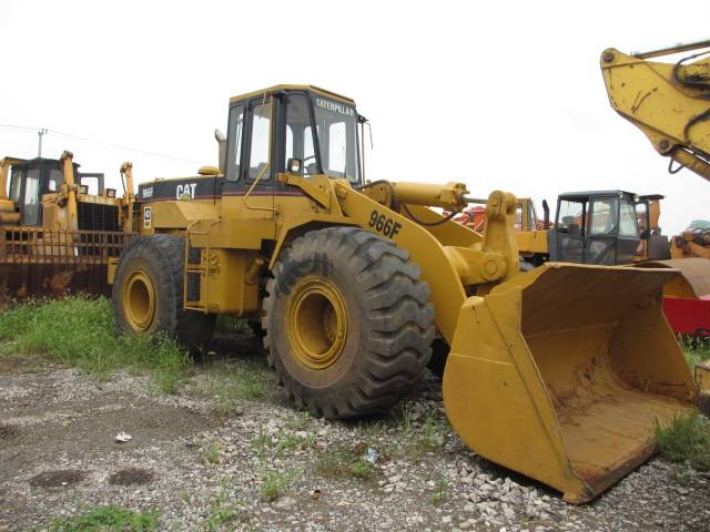 used 966F CATERPILLAR wheeled loader
