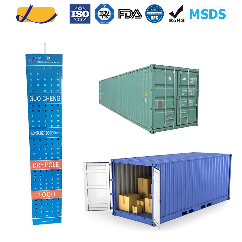 hanging silica gel desiccant for cargo protection