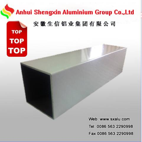 white powder coated aluminium profile