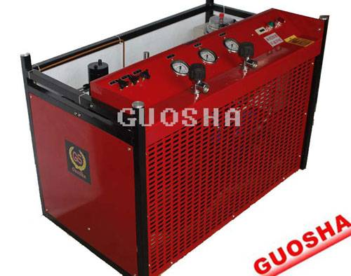 GSW300 type diving for high pressure air compressor/scuba breathing air compressor/diving bottle air