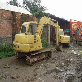 used komatsu excavator PC70