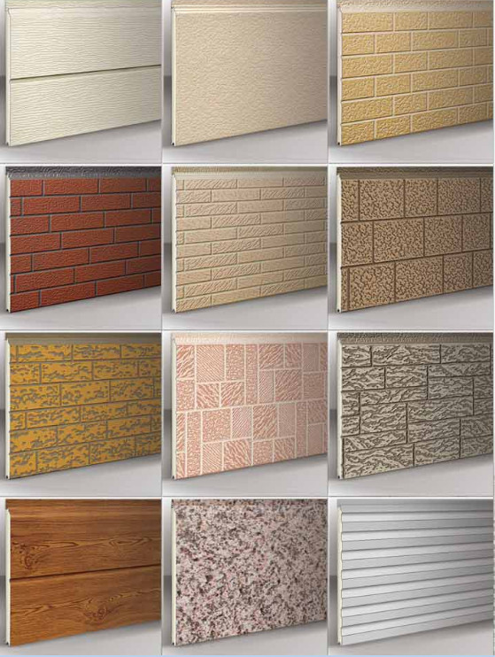 Thermal Insulating decorative sandwich panel