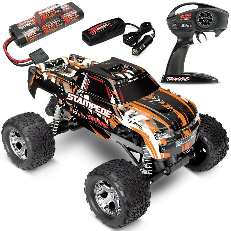Traxxas Stampede 4X4 XL-5 RTR RC Truck w/Quick Charger TRA67054-1