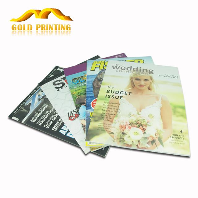 Wholesale custom professional cheap magazine printing and photo book printing