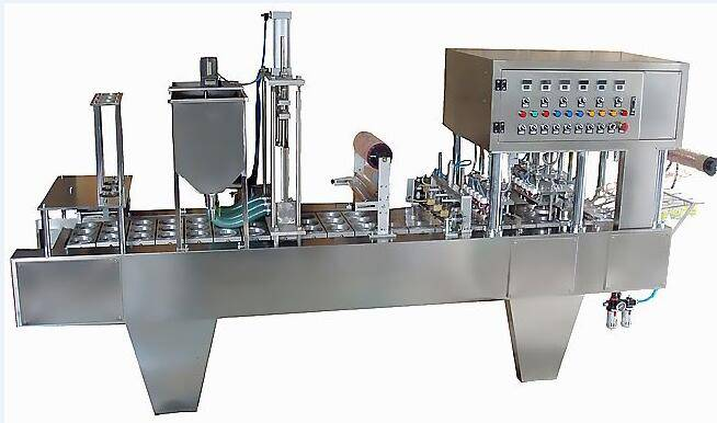 Automatic Cup/Bowl Filling & Sealing Machine