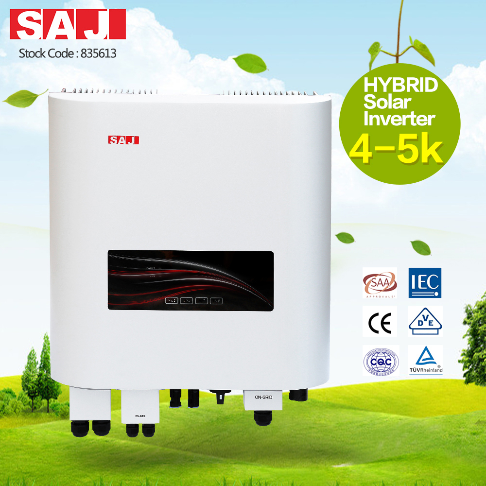 SAJ High Performance Hybrid Solar Inverter With Mppt Charge Controller