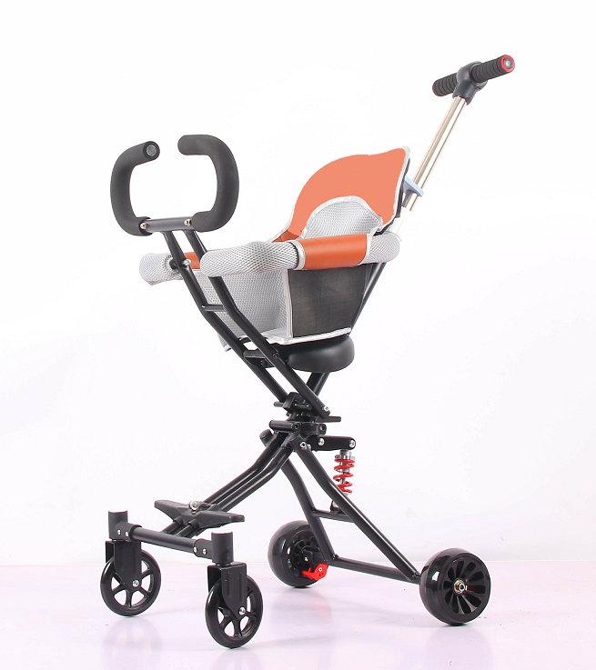 Portable Baby Walker-PT002 One Key Foldable