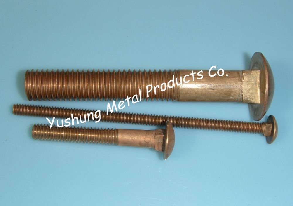 C65100 C65500 Silicon bronze carriage bolts