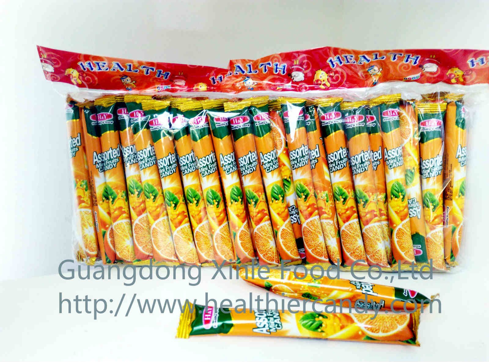Hot Sale Super Candy Orange Flavour Nice Taste and Sweet Promotional Snack