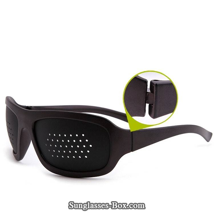 Customized Your Own Sport Cheap Pinhole Glasses ,Pinhole Glasses-HR-07