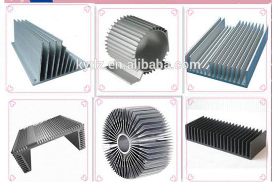 heat sink die castings aluminum parts