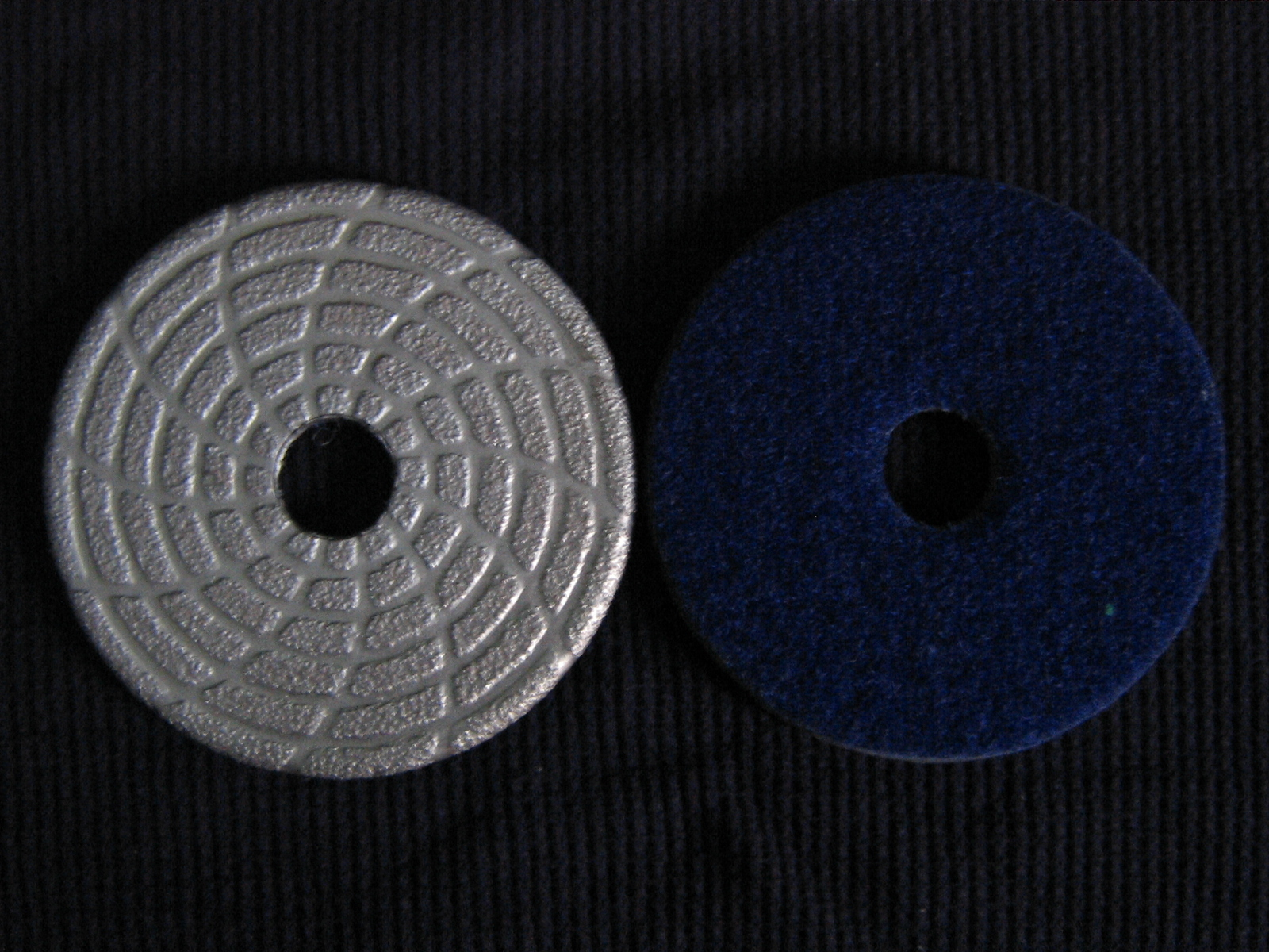 Brazed Polishing Pads Velcro