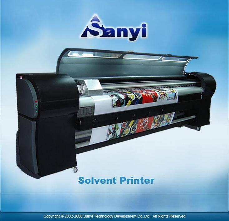 Wide format printer(3.2m,6 colors, XAAR head)