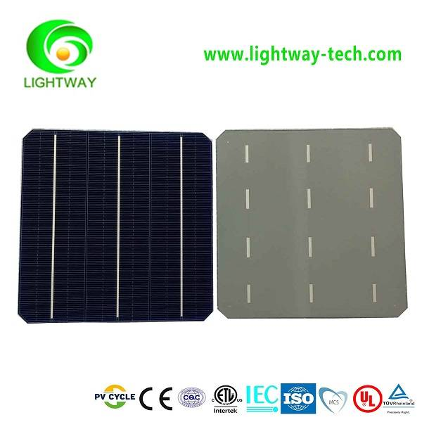 Lowest price Taiwan Brands 156*156mm mono 3BB High efficiency solar cells