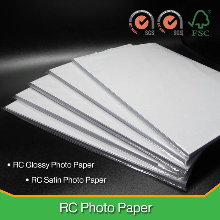 260G Micro-porous RC Satin Photo Paper For Inkjet Printers