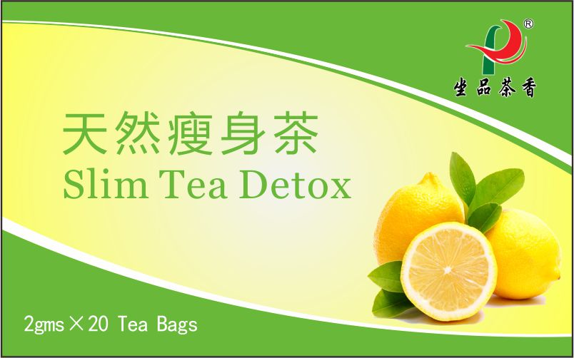 Chinese Herbal Slim Detox Tea bag