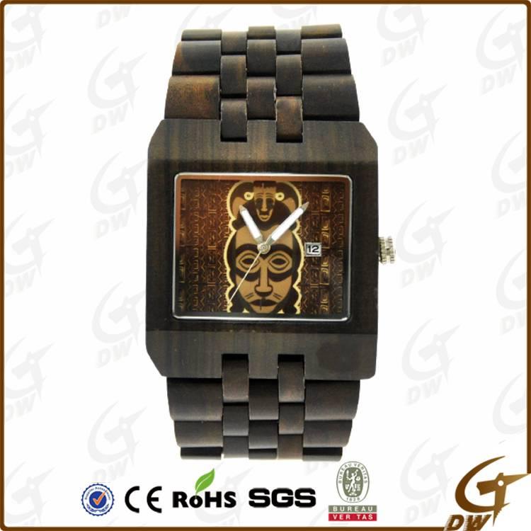 High Quality New Design Fashion Wood Watch