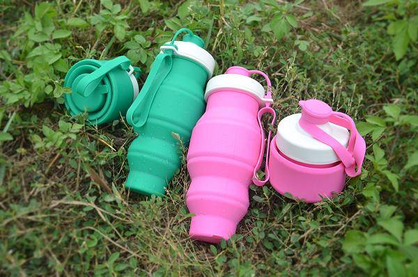 hot sale silicone sports water bottle