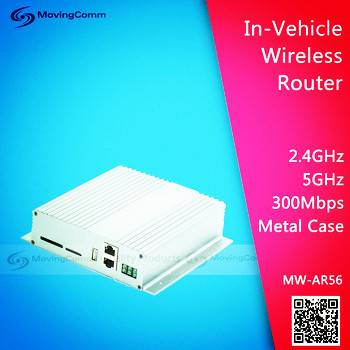 Industrial Grade 2.4G &5G Dual Band LTE 4G Car wifi Router with sim card slot
