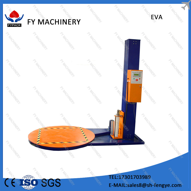 HIgh quality luggage pallet stretch wrapping machine