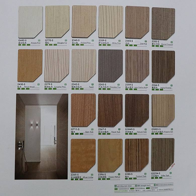 Greenia furniture laminate sheet/door laminate sheet/HPL