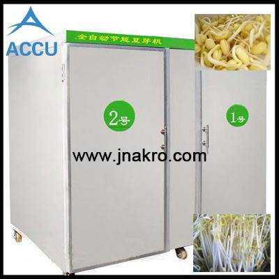 Automatic Water Spray Temperature Control Soya Bean Sprout Growing Machine