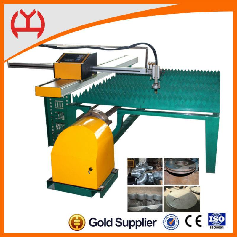 Steel plate correction function small pipe cutting machine