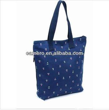 2014 new design Floral cotton bag for women