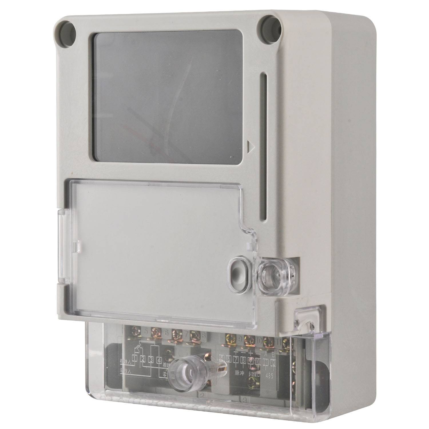 Single-phase electric meter case 2060-2