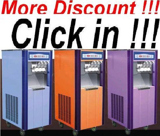 [Only 1350USD][Direct Sale]OP3328D 3 Colors Frozen Yogurt Soft Ice Cream Machine.Aspera Compressor.