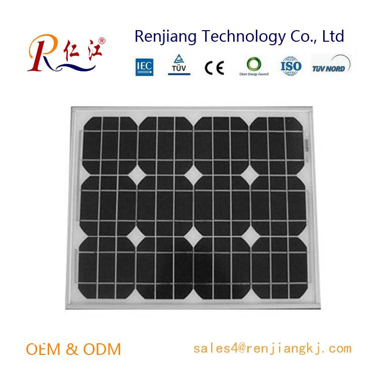 150W Mono Solar Panel, High efficiency Made of A-grade Monocrystalline Cells With TUV/IEC/CE/CEC Cer