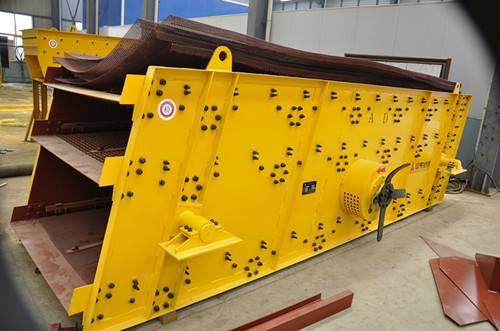 high efficiency YK series vibrating screen