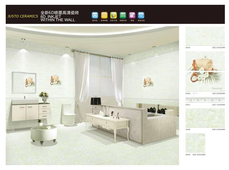 inkjet printing bathroom tile