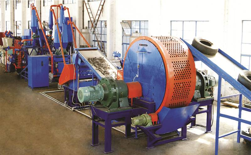 Machinery of Making Waste Steel Tire into Powder