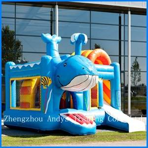 Whale Inflatable Castle