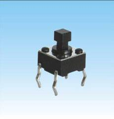 Manufacturer Supply Tact Switch with 6X6mm Square Handle 4 Pin Switch