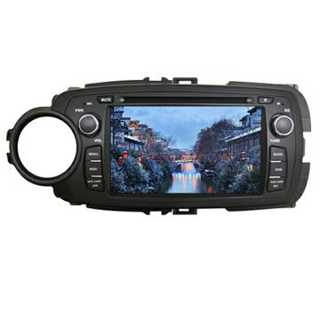 FOB price Car DVD Player With DVB-T With TMC With GPS Special for TOYOTA 2012 YARIS