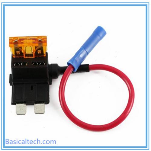 ATM Add a Circuit Middle Blade Mini Fuse Holder for Car