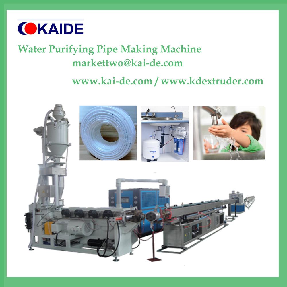 LLDPE RO water system Tube Making Machine