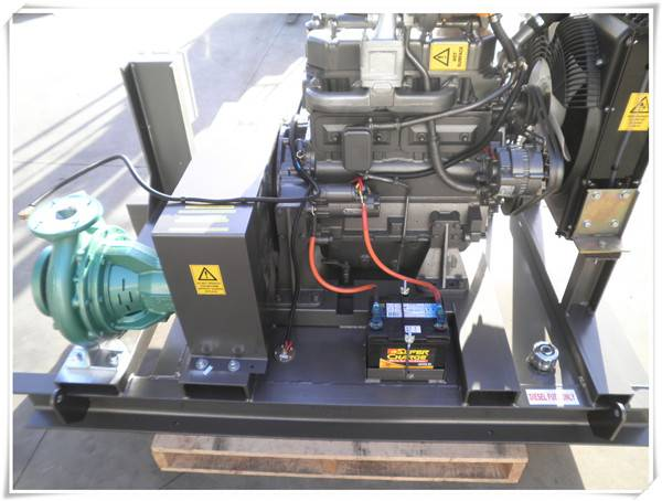 Agricultural Irrigation Diesel Water Pump With Diesel Engine