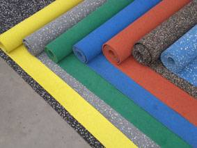 SBR/EPDM rubber floor/mat